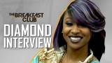 Diamond Interview at The Breakfast Club Power 105.1
