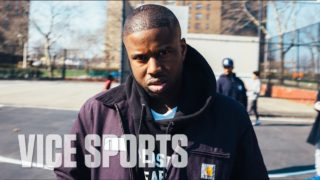 A$AP Twelvyy Plays Pick-Up Ball at Castle Hill Projects