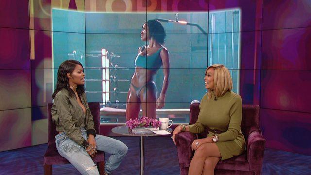 "Teyana Taylor Talks Background Behind ""Fade"" Visual"