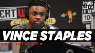 "Vince Staples Crowns Kendrick as Best Rapper Out Now: ""It's Not Even Close"""